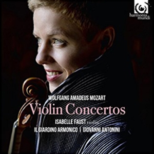 MOZART : COMPLETE VIOLIN CONCERTO - FAUST (2CD)