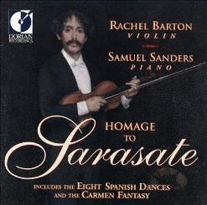 HOMAGE TO SARASATE - RACHEL BARTON / SAMUEL SANDERS (SACD)