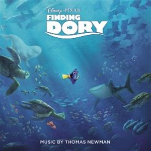 OST : FINDING DORY - MUSIC BY THOMAS NEWMAN (CD)