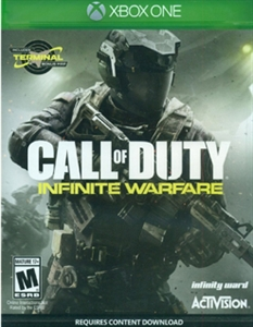 XBOX ONE CALL OF DUTY INFINITE WARFARE (REQUIRES CONTENT DOWNLOAD) (ASI)
