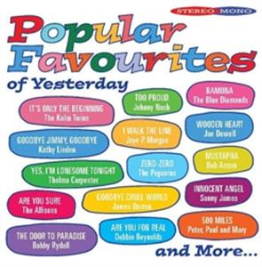 VA : POPULAR FAVOURITES OF YESTERDAY (CD)
