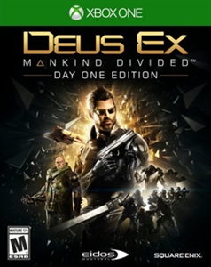 XBOX ONE DEUX EX MANKIND DIVIDED (ASI)
