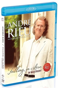 ANDRE RIEU : FALLING IN LOVE (UK)(CD+DVD)