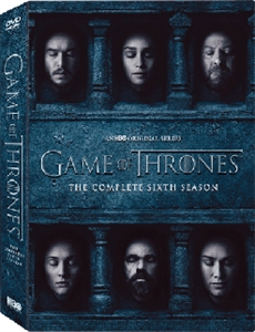 GAME OF THRONES SEASON 6 權力遊戲第6輯 (5DVD)
