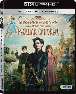 MISS PEREGRINE'S HOME FOR PECULIAR CHILDREN 柏鳥小姐的童幻世界 (4K UHD+BRDVD)