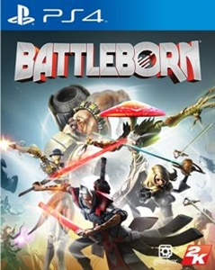 PS4 BATTLEBORN (REQUIRES INTERNET) (中英文合版) (ASI)