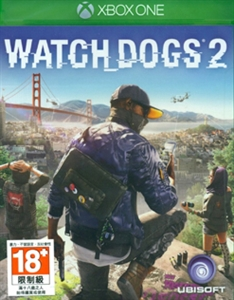 XBOX ONE WATCH DOGS 2 (中英文合版) (ASI)