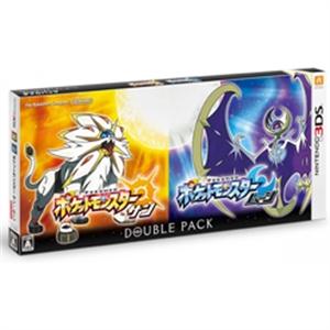 N3DS POKEMON SUN & MOON DOUBLE PACK ポケットモンスター サン・ムーン ダブルパック (JAP)