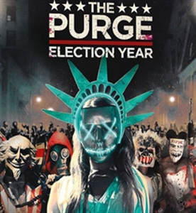 PURGE: ELECTION YEAR 國定殺戮日:大選狂屠 (DVD)