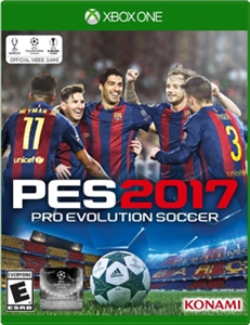 XBOX ONE PRO EVOLUTION SOCCER 2017 (中英日合版) (ASI)