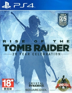 PS4 RISE OF THE TOMB RAIDER 20 YEAR CELEBRATION (繁體中文版) (ASI)