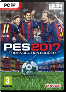 PC PRO EVOLUTION SOCCER 2017 (中英文合版) (EU)