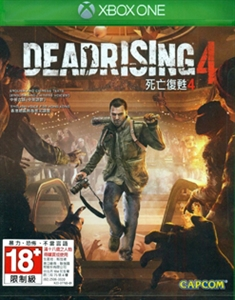 XBOX ONE DEADRISING 4 死亡復甦 4 (中英文合版) (ASI)