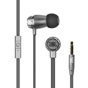 JBL -T180A [BLACK]- IN-EAR STEREO HEADPHONES WITH MIC / REMOTE FOR SMARTPHONES