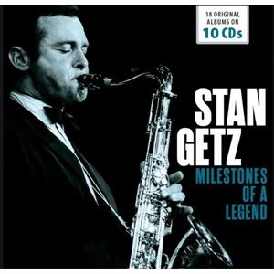 STAN GETZ : MILESTONES OF A LEGEND 18 ORIGINAL ALBUMS (10CD)