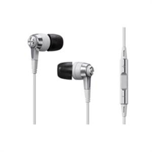 DENON C620R IN-EAR HEADPHONE WITH REMOTE + MICROPHONE (WHITE)