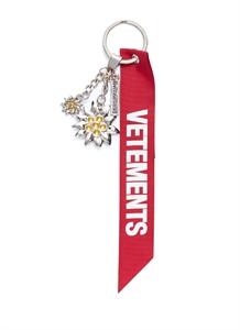 Edelweiss motif keychain
