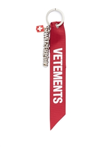 Switzerland slogan keychain