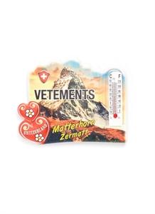 Matterhorn Zermatt thermometer magnet