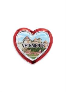 Montreux heart magnet