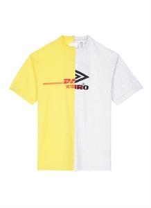 'DHL Umbro' logo print T-shirt