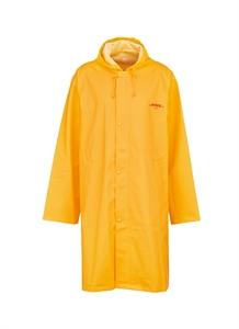 'DHL' logo print unisex raincoat