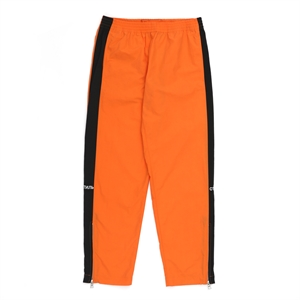 Orange Side Band Nylon Loose Pants