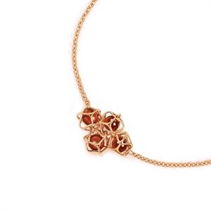 Embrace Collection 18K Red Gold Garnet Bracelet