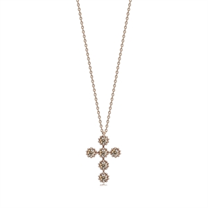 Kashikey Brown Diamond 18K Brown Gold Brown Diamond Necklace