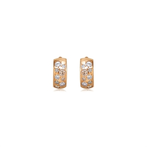 Kashikey Brown Diamond 18K Brown Gold Brown Diamond Earrings