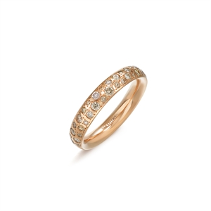 Kashikey Brown Diamond 18K Brown Gold Brown Diamond Ring