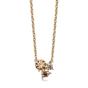 Kashikey Brown Diamond 18K Brown Gold Brown Diamond Necklace