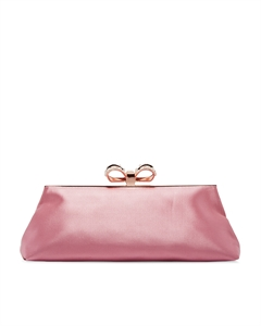 PEARL BOW EVENING BAG