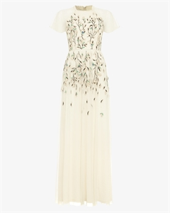 Colette Embroidered Maxi Dress