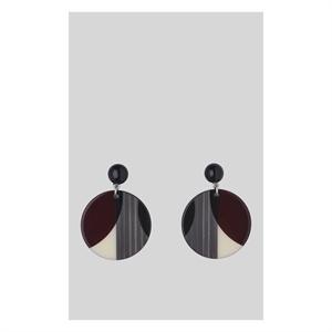 Geometric Circle Resin Earring