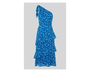 Almond Print Dobby Dress