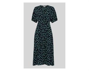 Lenno Print Naya Button Dress