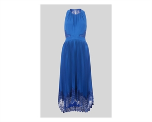 Lana Lace Pleat Dress