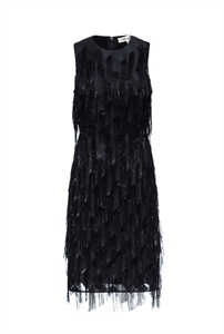 Nadi Fringe Dress