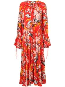 Bethany Cinch Sleeve Maxi Dress