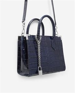 MEDIUM NAVY BLUE MING BAG