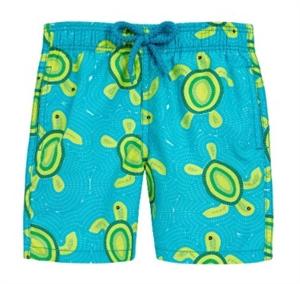 Mosaic Turtles Swim Shorts (Kids)