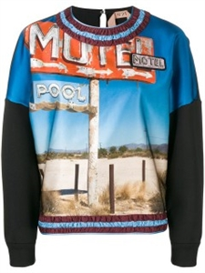 MOTEL PRINTED SWEATSHIRT