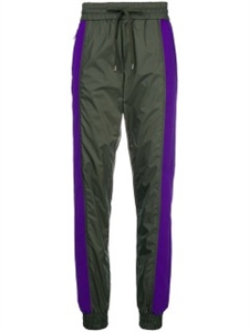 TWO TONE TRACKSUIT TROUSERS