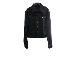 CONTRAST-PANELLED DENIM JACKET