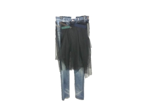 ORGAZA PATCHED JEANS