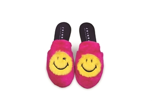 SMILE FUR SLIPPERS