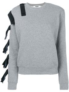 Straps-embellished Sweatshirt