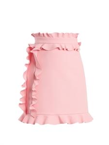 Ruffle-trimmed Mini Skirt