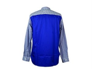 GINGHAM CHECK BACK PATCH SHIRT